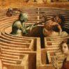 Arte nella Potenza dell'Anonimo : Il Maestro di Tavarnelle, Teseo e il Minotauro
